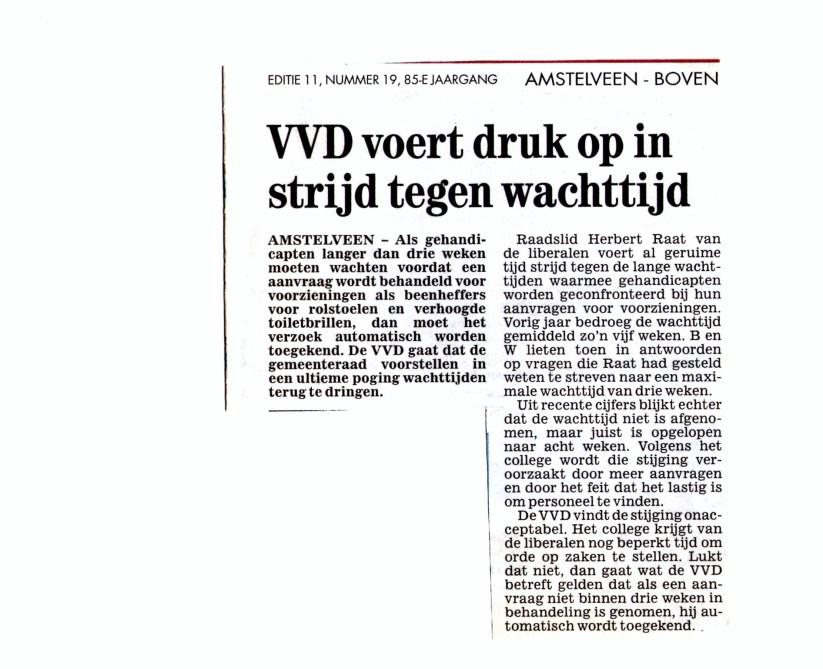 2007-9-mei-Amstelveens Stadsblad-wachttijden gehandicapten (2)