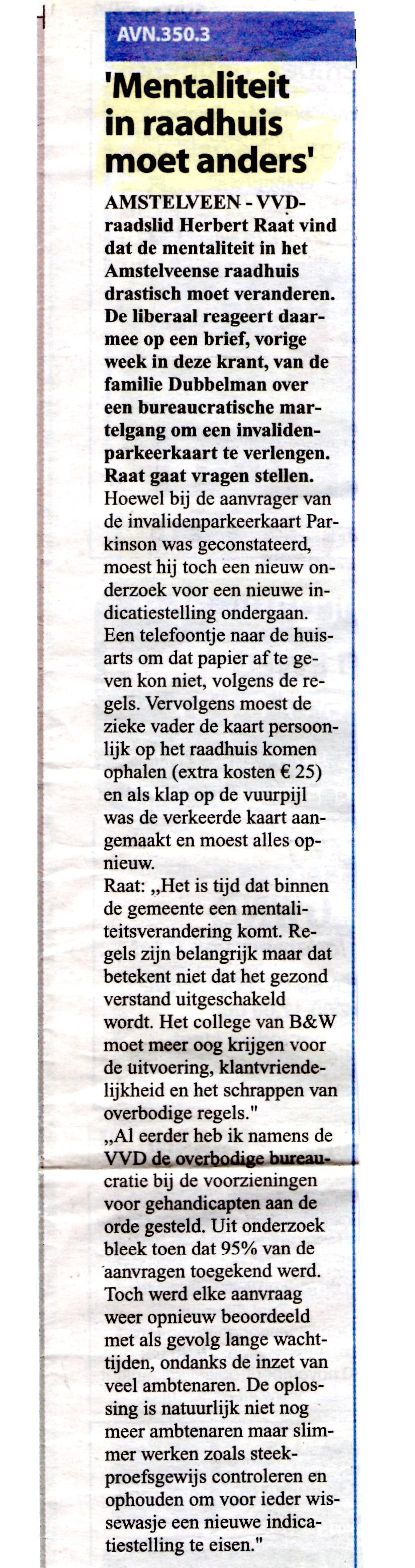2008-5-9 Amstelveens Nieuwsblad-Invalide met Parkinson ondergaat een bureaucratische martelgang (2)
