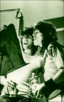 Stones-1972 Mick Jagger keith Richards