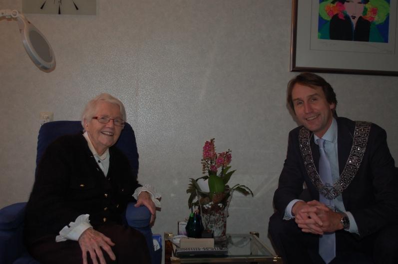 2013. Herbert Raat en mevrouw van Houten