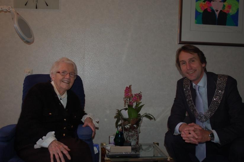 2013-103 jaar mevrouw van Houten herbert raat