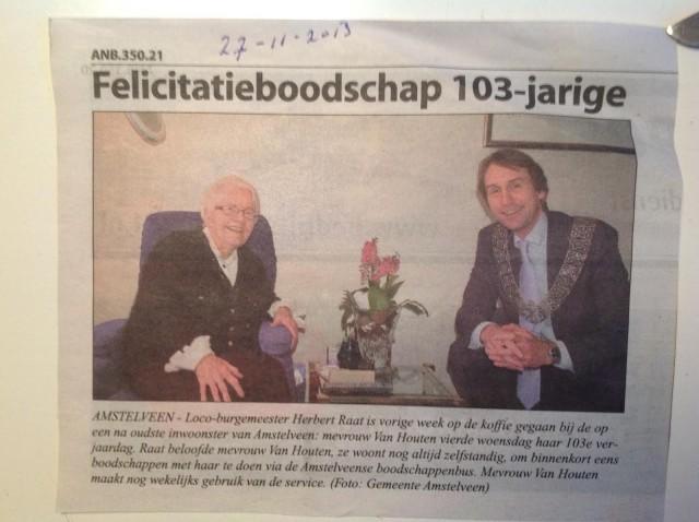 2013-mevrouw van houten herbert raat Amstelveens nieuwsblad