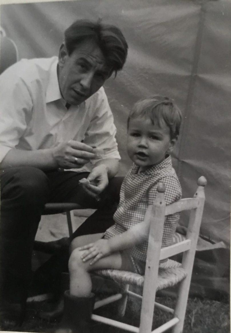 1970 Hans Raat en Herbert Raat