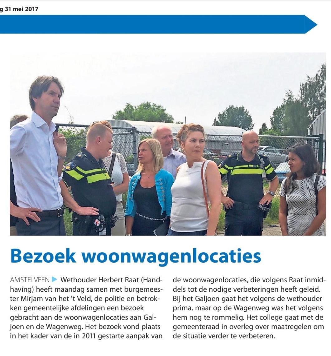 2017-31-5 Amstelveens Nieuwsblad Herbert Raat Mirjam van 't Veld