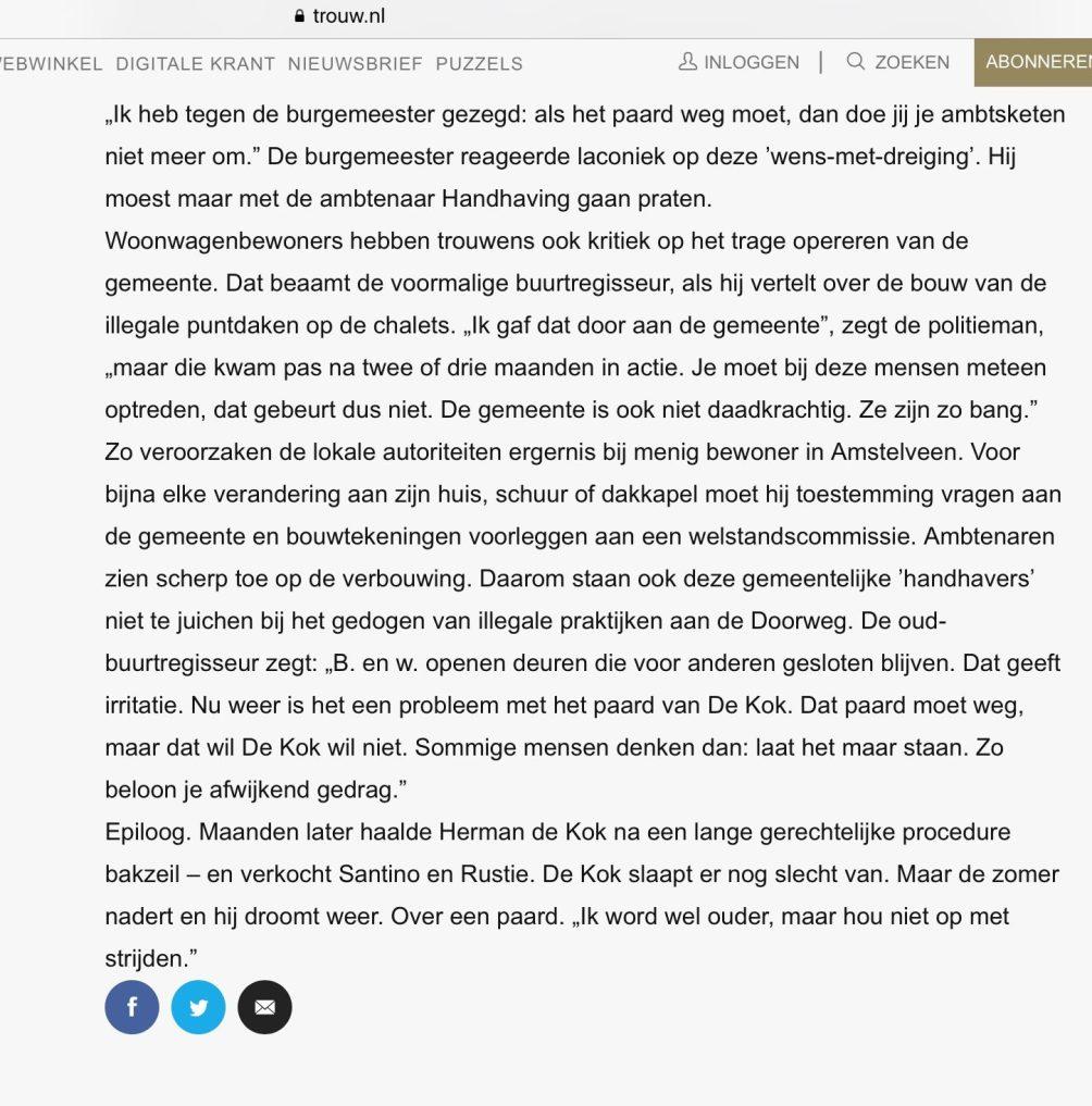 2010-15-5 Trouw Hans Werdmolder over woonwagens Amstelveen 6 van 6