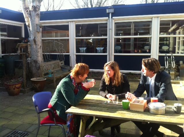 2013-Herbert Raat EstherGorissen De Zwaluw in Nes aan de Amstel