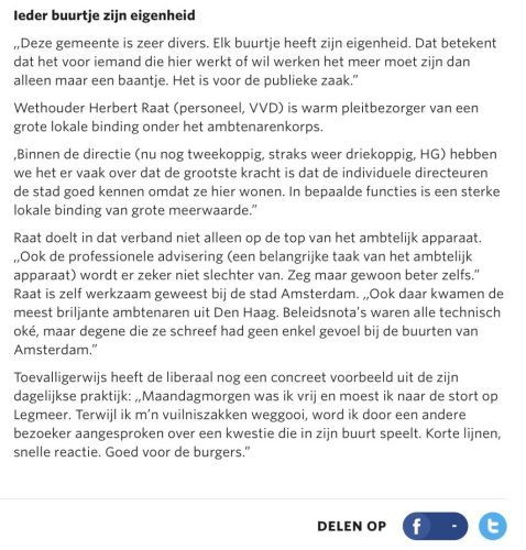 2011-11-8 Amstelveens Nieuwsblad over lokale binding ambtenaren 2 van 2