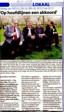2010-Ben Jonker-Hans Bulsing-John Levie-Herbert Raat 14-4-2010; Nieuwe coalitie in Amstelveen.