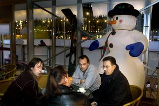 2005-Herbert Raat, Frans Stuy, Jeroen van Berkel en Ahmed Aboutaleb