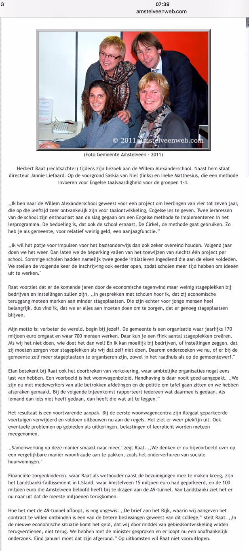 2012-Interview Herbert Raat Amstelveens Weekblad 2 van 2