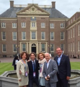 2015-Maaike Veeningen Herbert Raat Mirjam van t'Veld Jeroen Brandes en Rein Schurink in Apeldoorn