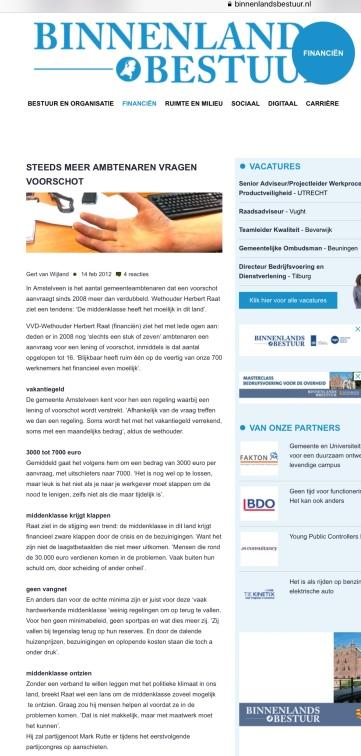 2012-14-2 Binnenlands Bestuur Herbert Raat over problemen van de middenklasse
