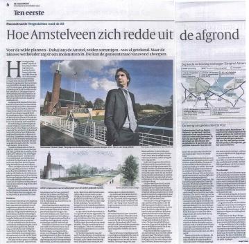 2013-De Volkskrant-terugblik met Herbert Raat onderhandelingen A9-Amstelveen