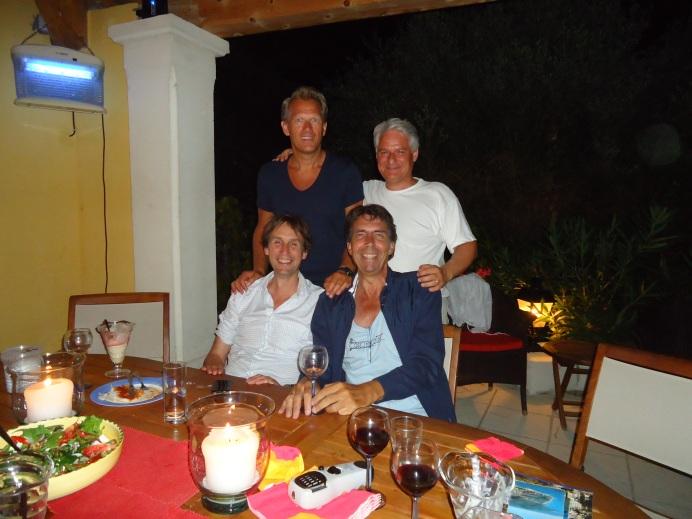 2012-Herbert Raat, Henk Godthelp, Kees Noomen en Claudio Mancinelli