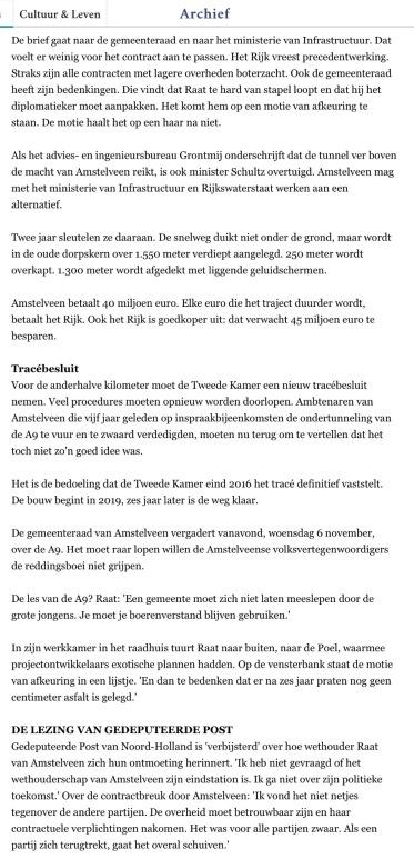 2013-6-11 De Volkskrant reconsructie A9 Amstelveen 4 van 4
