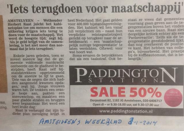 2014-8-1-amstelveens weekblad herbert raat over bijstand