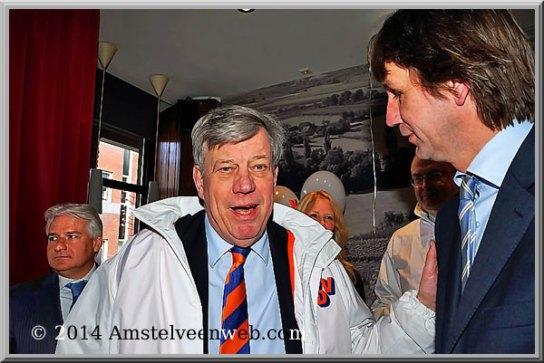 2014 minister Ivo Opstelten en wethouder Herbert Raat