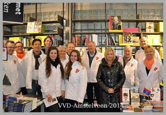 2014-VVD Amstelveen met minister Hennis Plasschaert