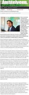 20-10-2014 AmstelveenBlog; Herbert Raat over terugkeer miljoenen Amstelveen van Landsbanki