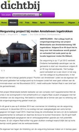 2015- 29 april Dichtbij herbert raat Molenweg