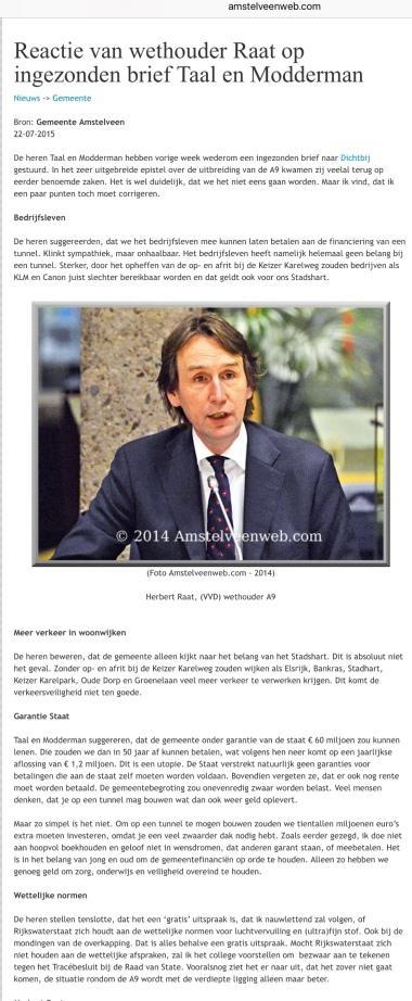 2015-22-7 Amstelveenweb.com A9 Herbert Raat