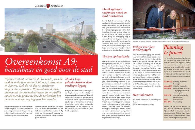 2015-Herbert Raat informatie gemeente Amstelveen over A9