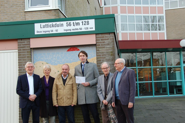 wethouder Herbert Raat en de VvE van Luttickduin