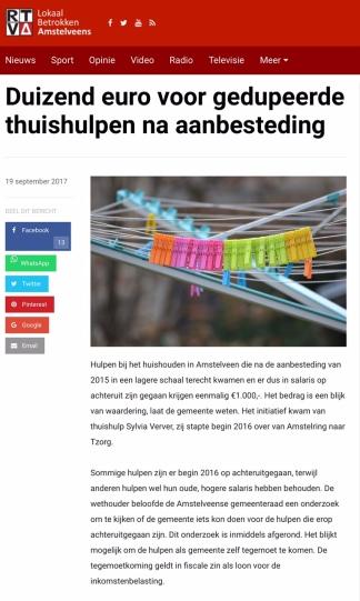 2017-20-9 RTV Amstelveen 1 van 2 over 1000 euro voor hulpen