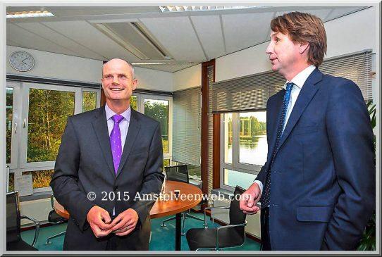 2015-Minister Stef Blok en wethouder Herbert Raat