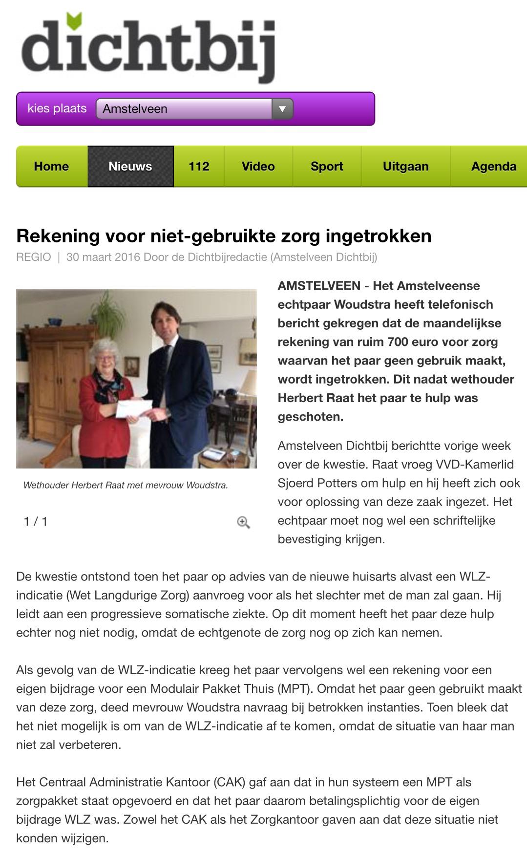 2016-30 maart AmstelveenDichtbij WLZ
