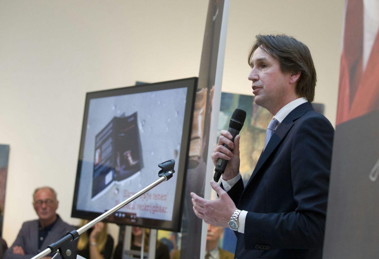 2016-31-1 Herbert Raat in Jan van der Togtmuseum Amstelveen