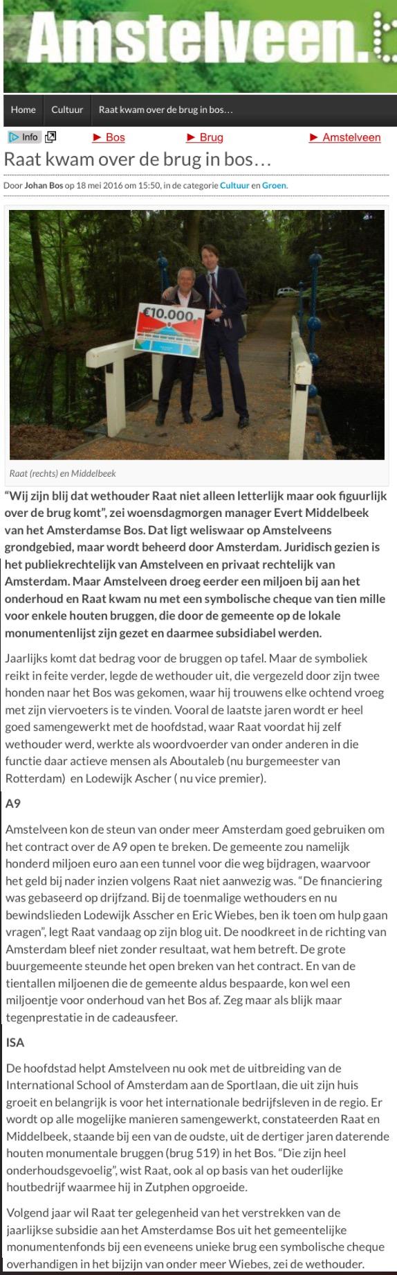 2016-18 mei artikel AmstelveenBlog.n