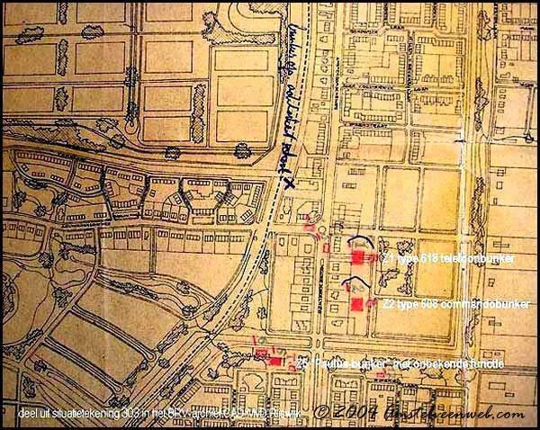 De naam Paulusbunker is al in 1949 door de BRV Rijswijk, die alle bunkers in kaart bracht, toegekend. Dat is te zien in deze foto.