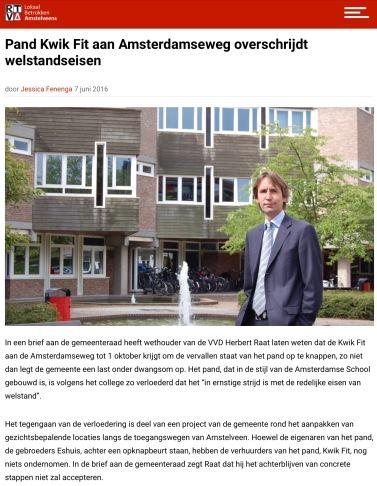 2016-7 juni RTV Amstelveen