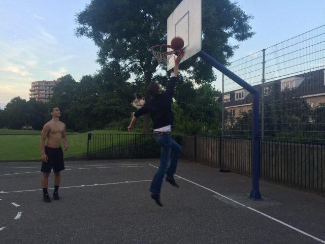 2016 22 juni Herbert Raat basketbal