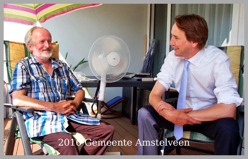 2016-Stefan Toth van Amstelveenweb en wethouder Herbert Raat