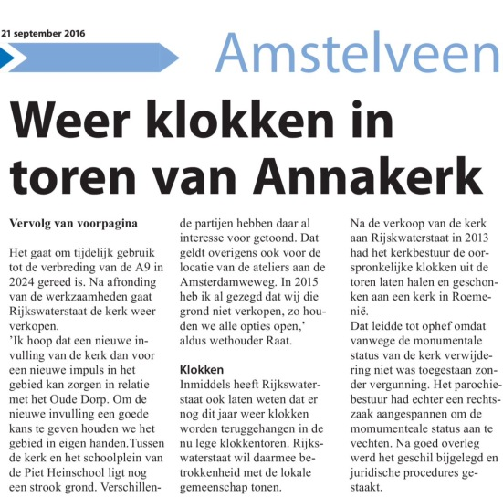 2016-21-9 Amstelveens Nieuwsblad Annakerk pagina 5