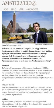 2016-AmstelveenZ invulling Annakerk Amstelveen
