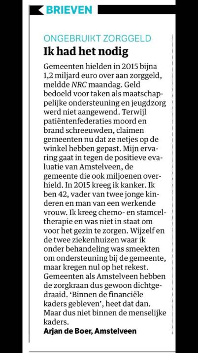 2016-NRC Arjan de Boer