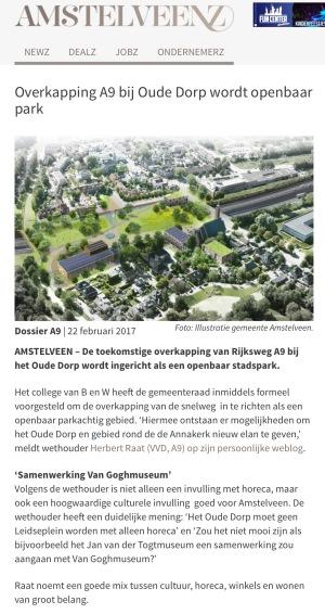 2017-22-2 AmstelveenZ over Van Gogh naar Amstelveen