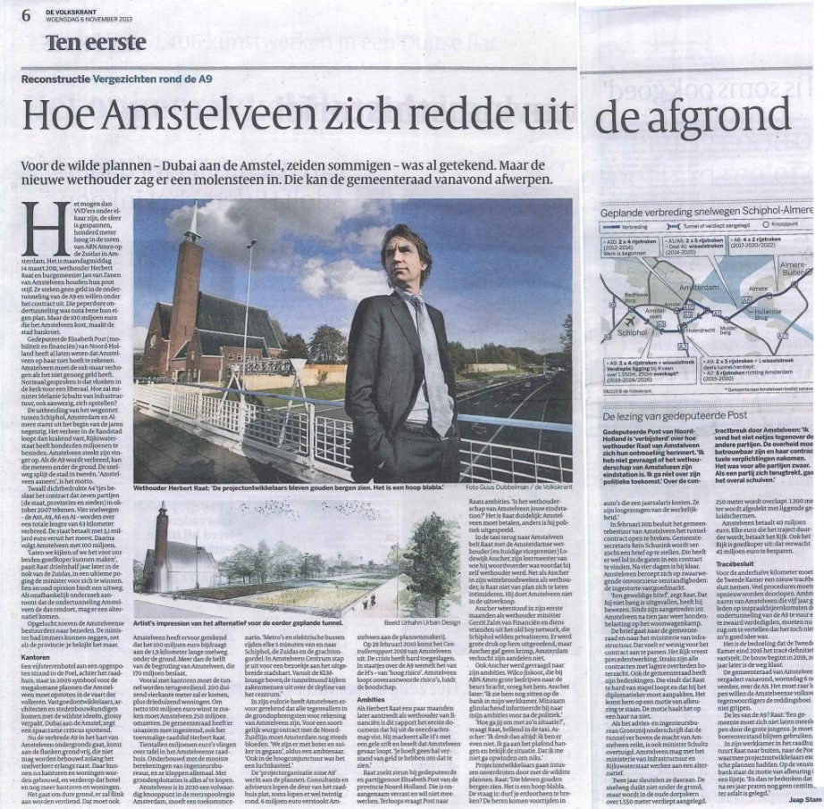 2013-Volkskrant A9 Amstelveen