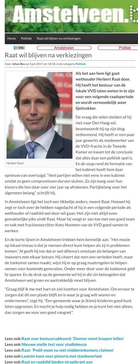 2017-5-7 AmstelveenBlog.nl over
