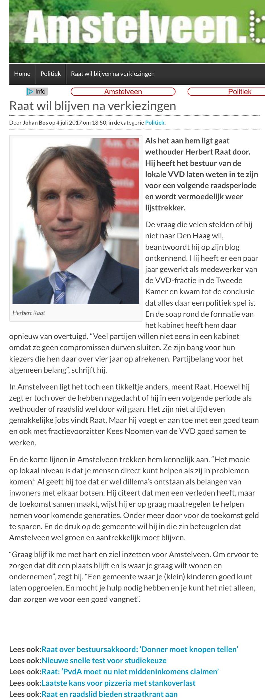 2017-5-7 AmstelveenBlog.nl