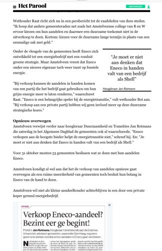 2017-29-8 Het Parool Eneco Amstelveen 2 van 2