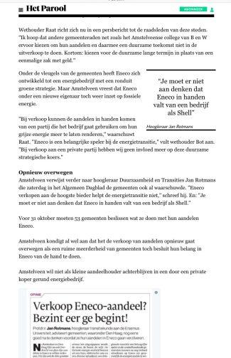 2017-29-8 Het Parool Eneco, Herbert Raat Amstelveen 2 van 2