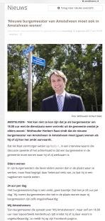 2017-14-8 Amstelveenz over woonplaats burgemeester