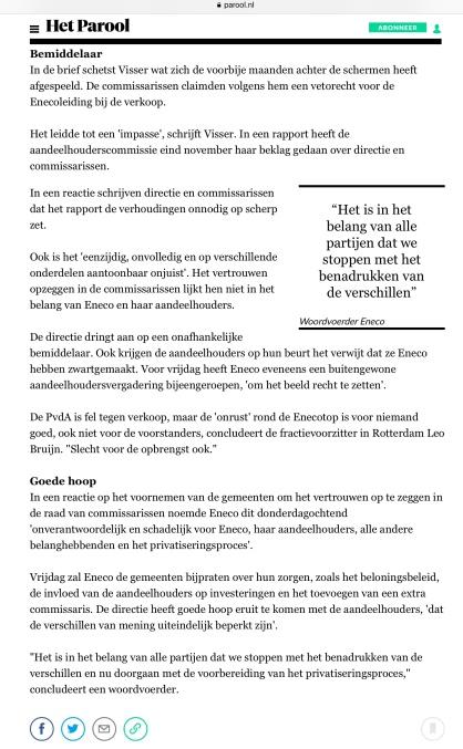 2018-11-1 Het Parool-Bart van Zoelen-Eneco 3 van 3