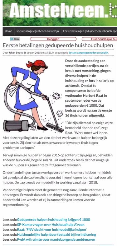 2018-17-1 AmstelveenBlog.nl over hulp bij huishouden