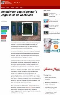 2018-22-1 RTVA-site; wethouder Herbert Raat over Het Jagershuis