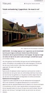 2018-22-1 Amstelveenz; Herbert Raat over Jagershuis